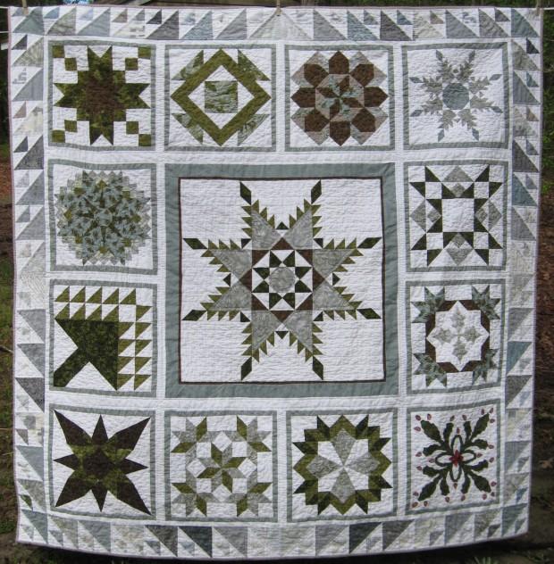 Winter quilt