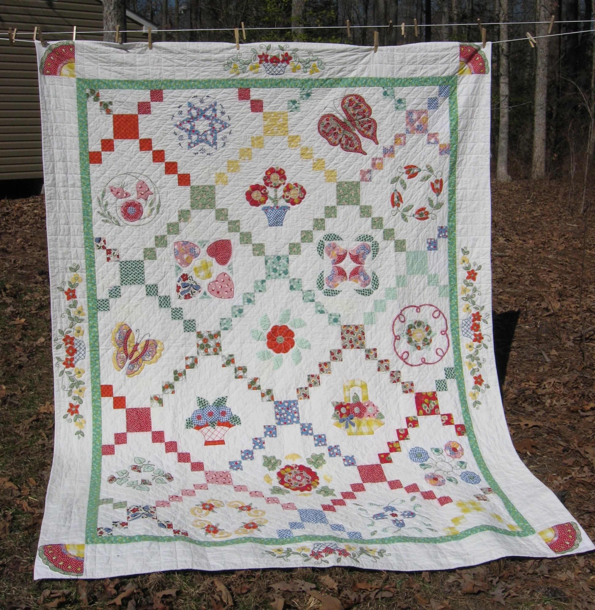 Traditional Quilt Wanda S Life Sampler