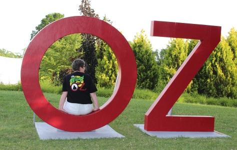 Back of Oz shirt