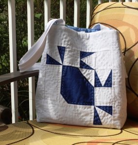Row by Row Experience: Blue Crab Quilt Co., Tote,