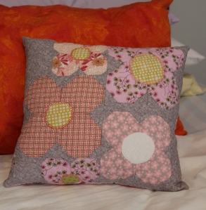 Row by Experience: Dogwood Pillow