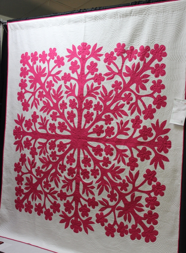 hot pink applique