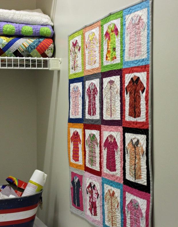pinkshirtswallhanging