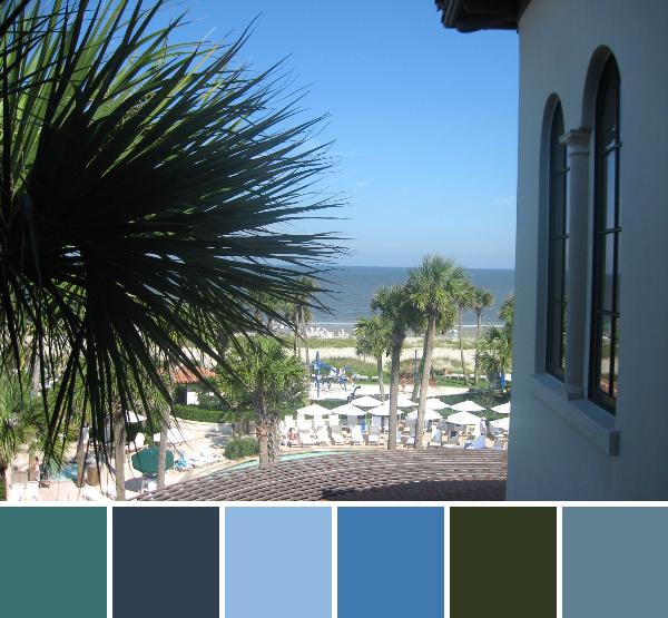 Sea Island-palette