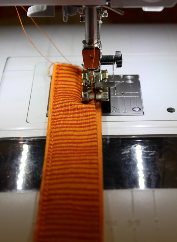 yoga handle stitching
