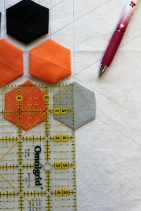 hexagons experiment measuring