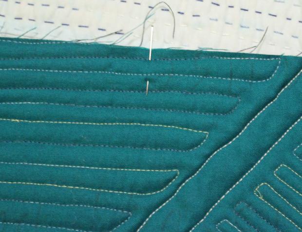 quilt binding facing pins