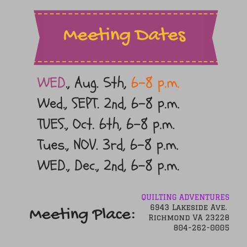 meeting dates 2015