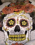Texas sugar skull