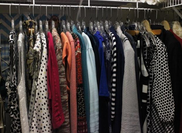 wardrobe by color