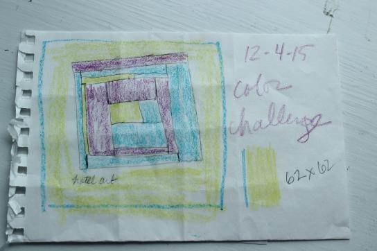 crayon challenge sketch
