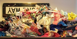 Day Fourteen 4-16-18 pile of scraps